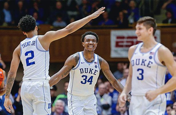 Duke Kansas Open Atop March Madness Odd