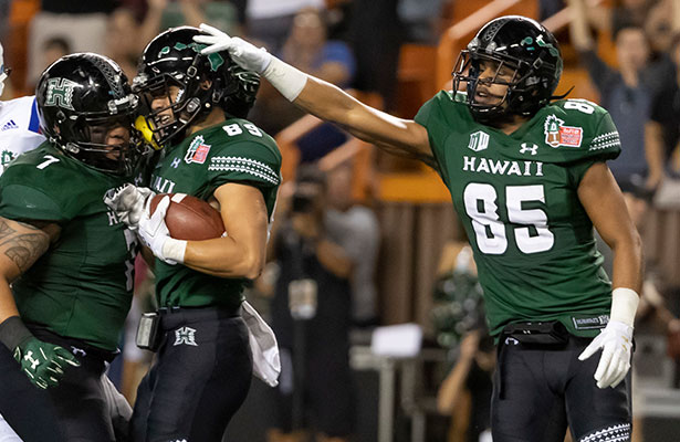 Hawaii Home Underdof on College Football Odds
