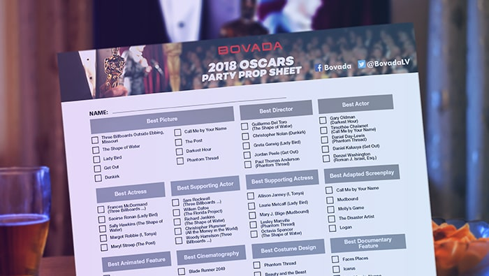 Make it an Oscar to Remember With Our Party Prop Sheet