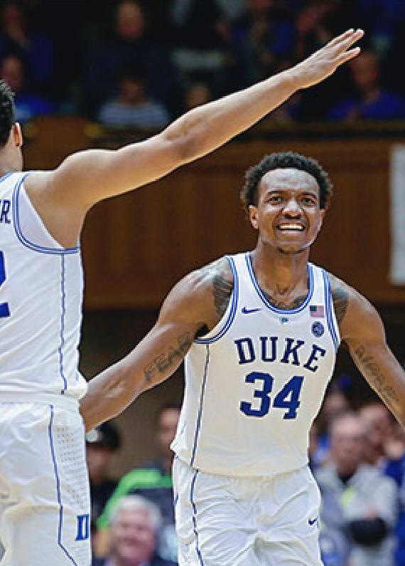 Duke, Kansas Open Atop 2019 March Madness Odds