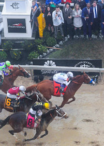 Justify Favored on Saturdays Belmont Skates Odds