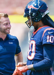McVay Navy Lead NFL Coach of the Year Odds