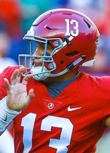 Tagovailoa Atop 2018 Heisman Trophy Betting Odds