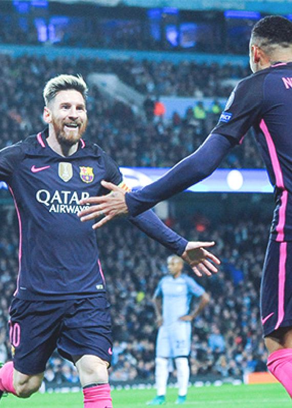 Barcelona Atop Champions League Odds