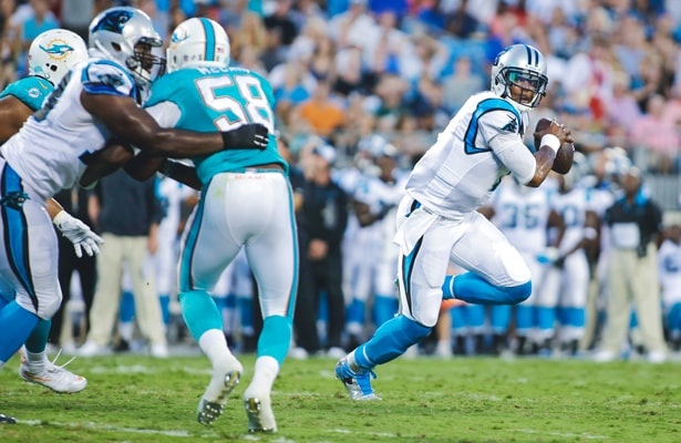Panthers MNF Favorites vs Dolphins