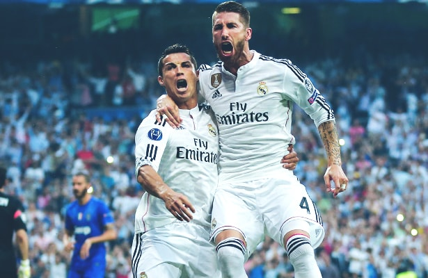 Real Madrid Champions Leagues Final Chalk