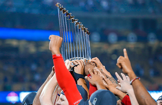 Red Sox Set Atop 2019 World Series Odds