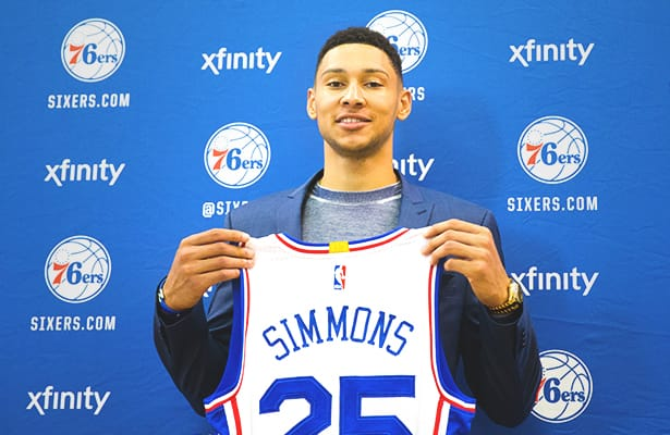 Simmons Favored Over Ingram Hield on NBA Rookie of Year Odds