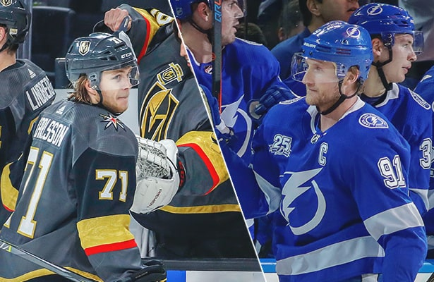 Vegas Tampa Bay Atop Stanley Cup Odds