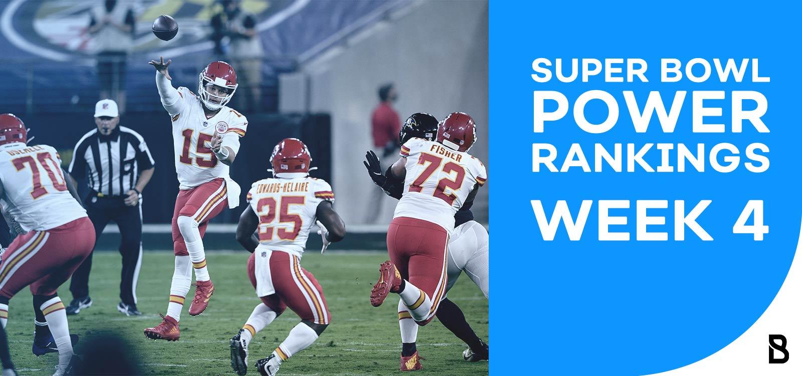 NFL Power Ranking - Week 4