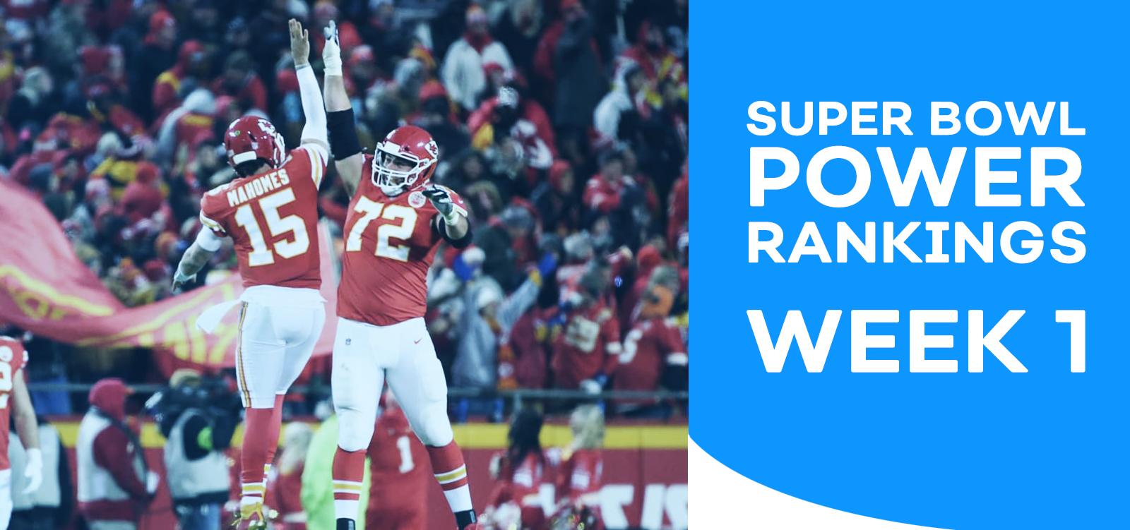 NFL Power Ranking - Week 1