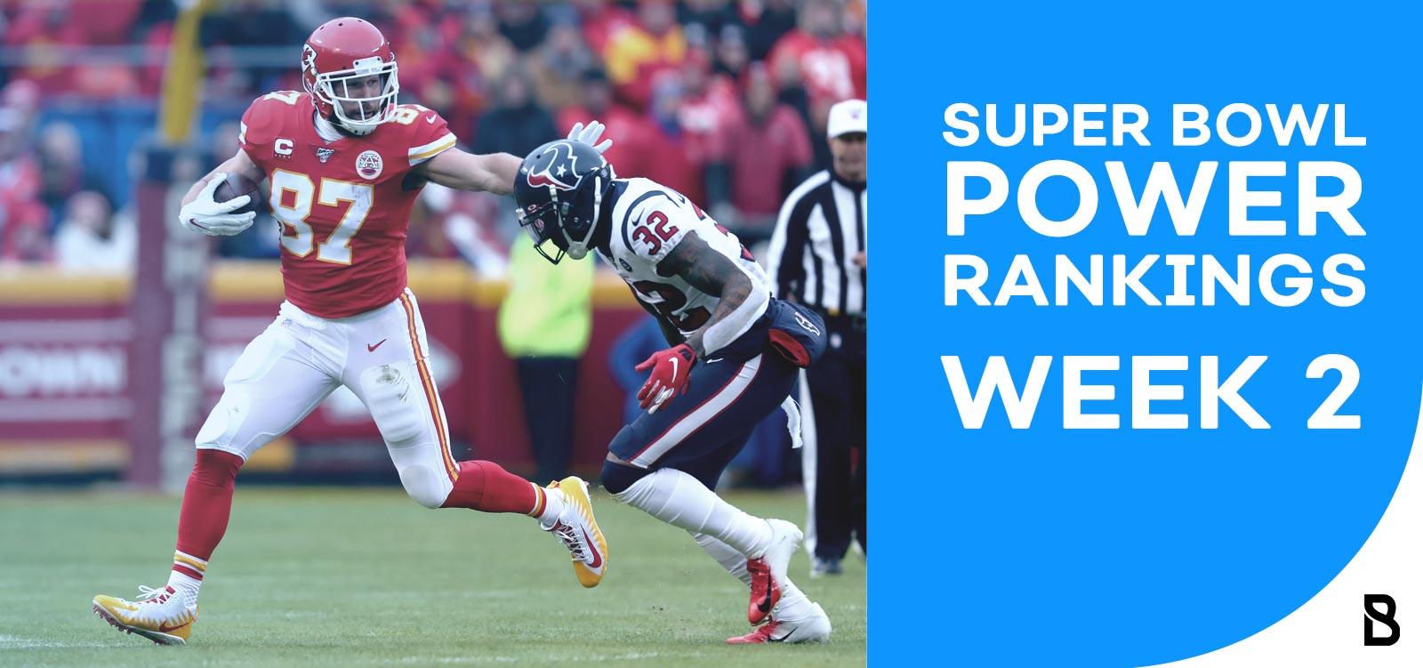 NFL Power Ranking - Week 2