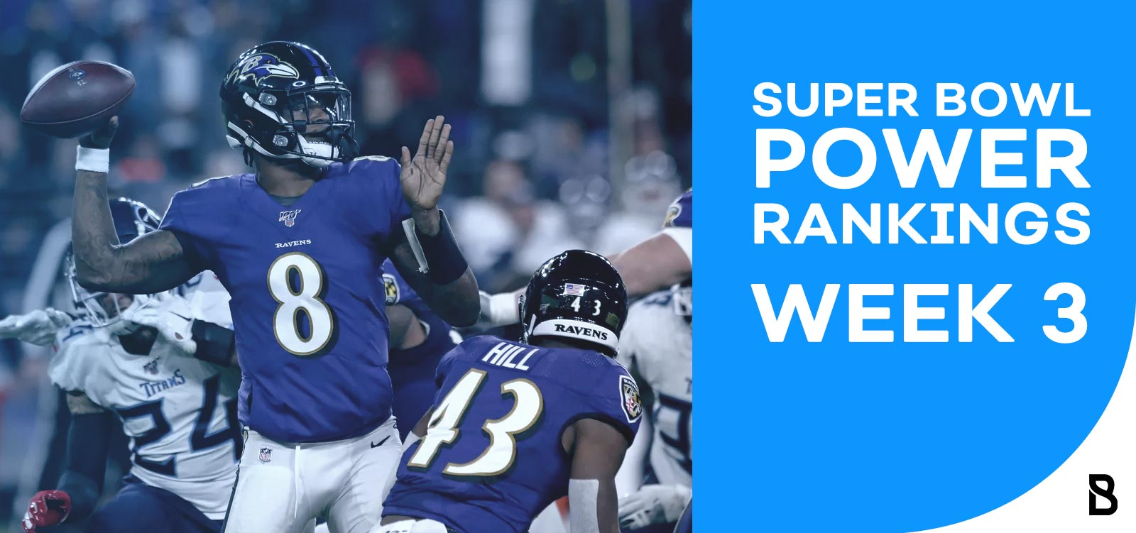 NFL Power Rankings - Week 3