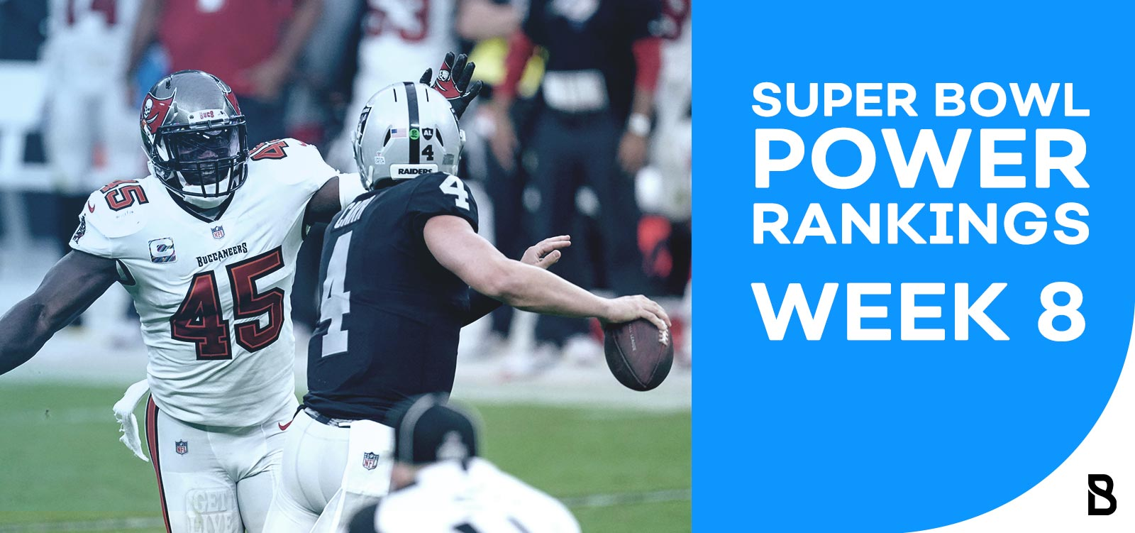 NFL Power Rankings 2020 - Week 8
