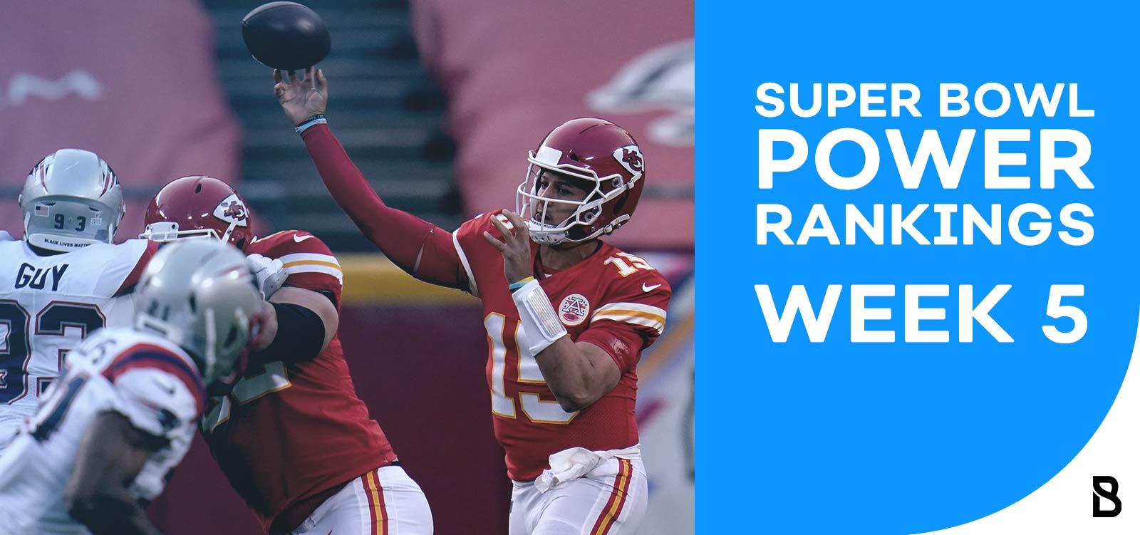 NFL Power Rankings - Week 5
