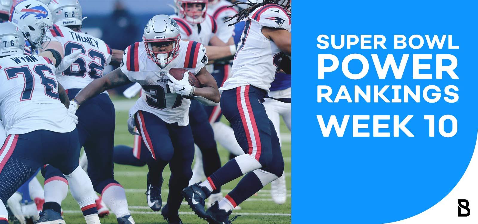 NFL Power Rankings - Week 10