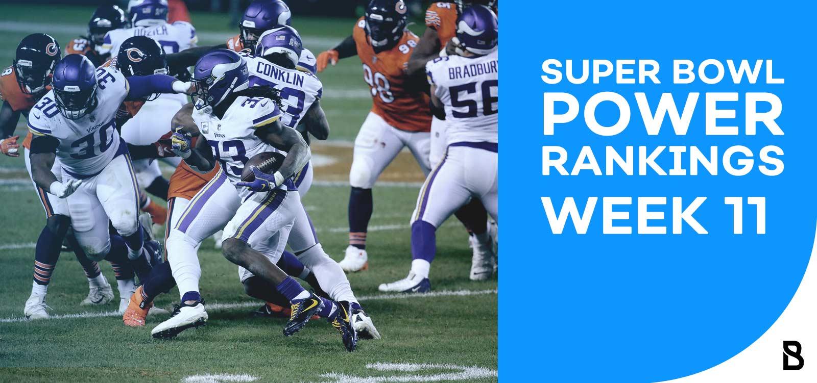 NFL Power Rankings - Week 11