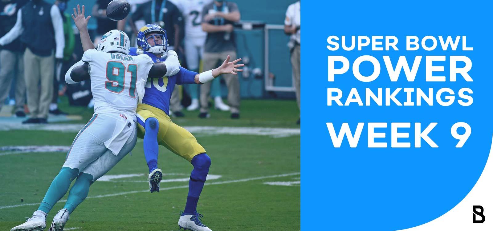 NFL Power Rankings - Week 9
