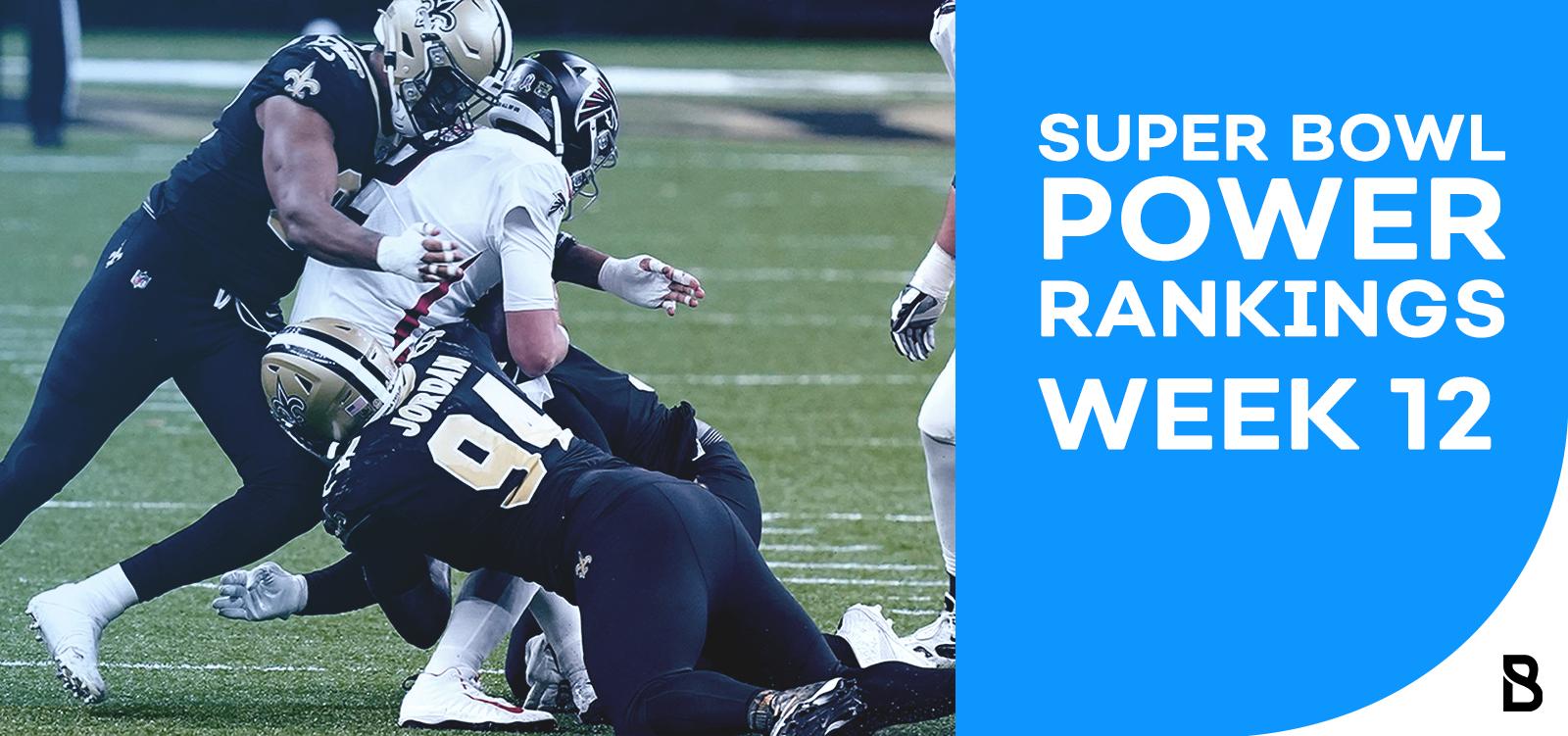 NFL Power Rankings - W12