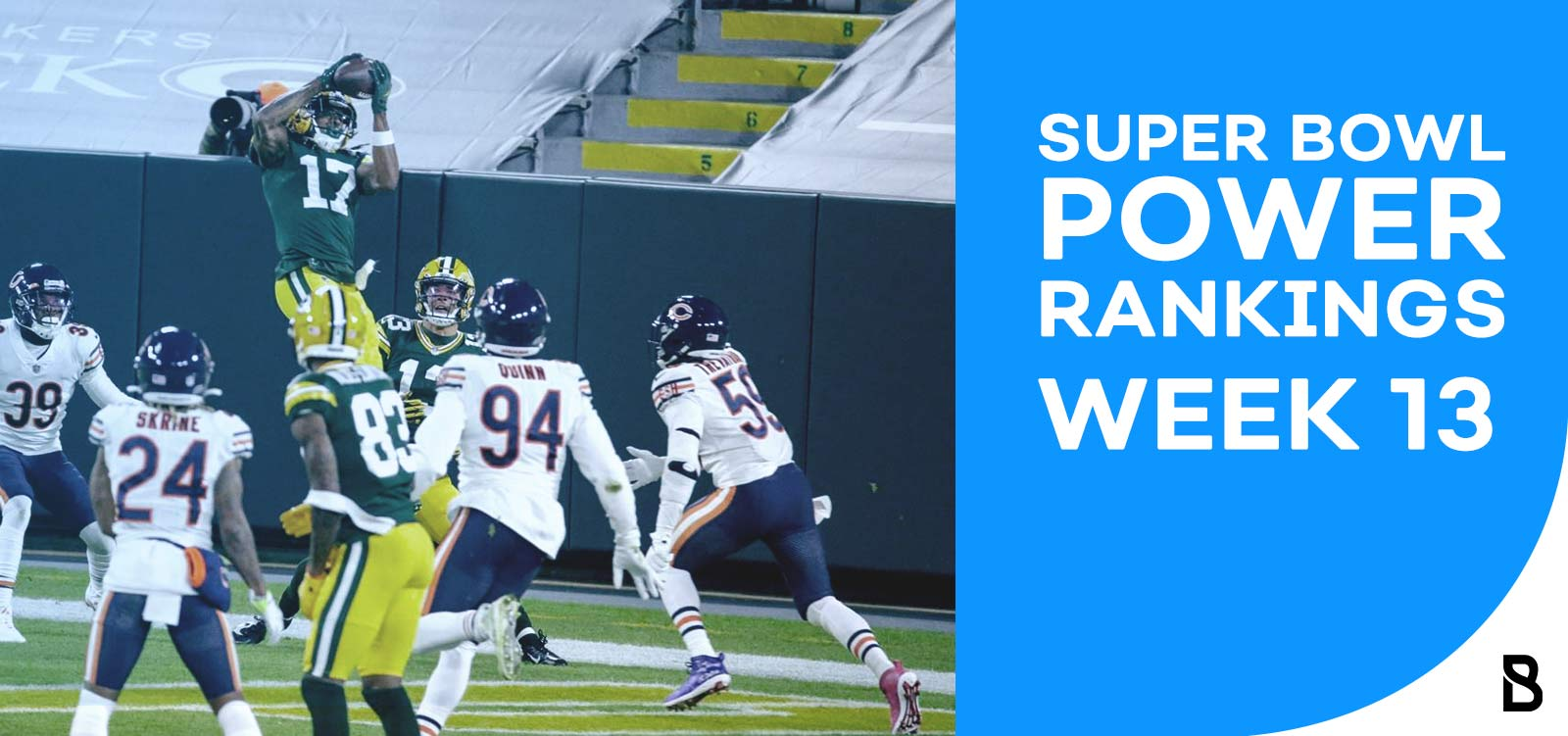 NFL Power Rankings Week 13