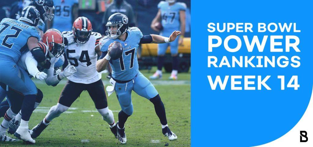 NFL Power Rankings - Week 14