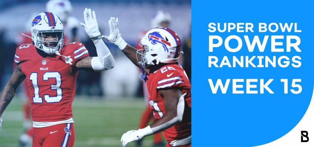 NFL Power Rankings - Week 15
