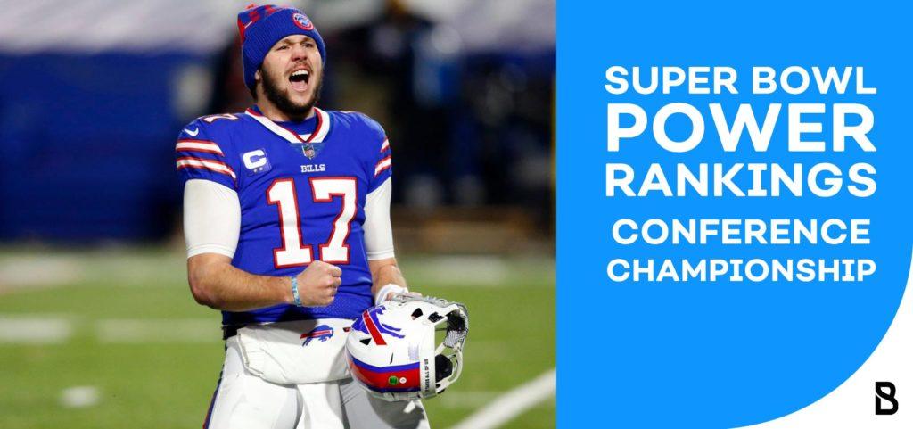 NFL power ranking